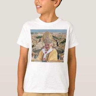 Papst Benedikt XVI. mit der Vatikanstadt T-Shirt