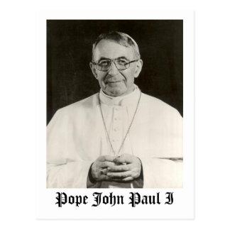 Papst John Paul I Postkarte