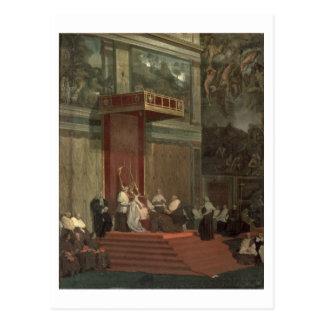 Papst Pius VII (Luigi Barnaba Chiaramonti) Postkarte