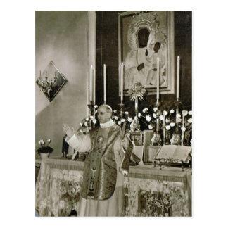 Papst Pius XII., Sprichwort Masse Postkarte