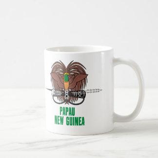 PAPUA-NEU-GUINEA - Emblem/Flagge/Wappen/Symbol Kaffeetasse