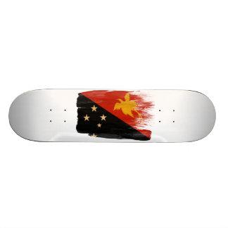 Papua-Neu-Guinea Flagge 19,1 Cm Old School Skateboard Deck