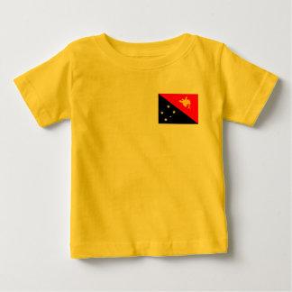 Papua-Neu-Guinea Flagge Baby T-shirt