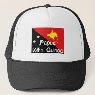 Papua-Neu-Guinea Flaggen-Andenkenhut Truckerkappe