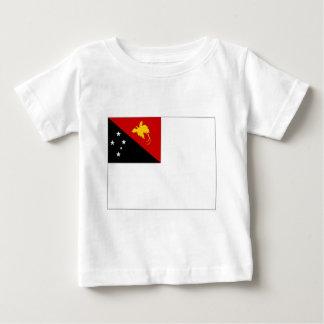 Papua-Neu-Guinea Marinefahne Baby T-shirt
