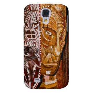 Papua-Neu-Guinea Masken Galaxy S4 Hülle