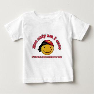 Papua-Neu-Guinea smiley-Flaggenentwürfe Baby T-shirt