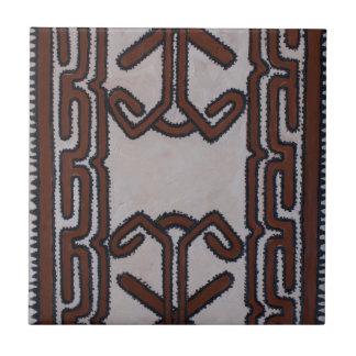 Papua-Neu-Guinea Tapa-Stoff Keramikfliese