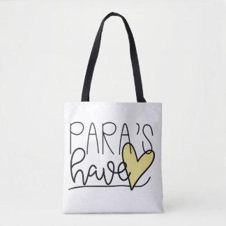 Para haben Herz-Tasche Tasche