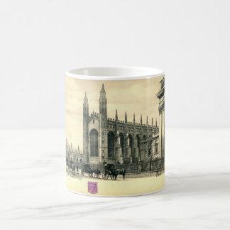 Parade Königs, Cambridge England 1915 Vintag Kaffeetasse