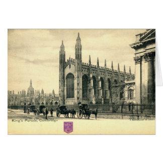Parade Königs, Cambridge England 1915 Vintag Karte