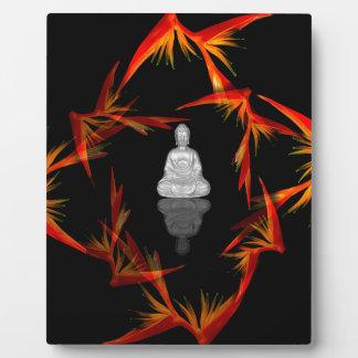 Paradies Buddha Fotoplatte