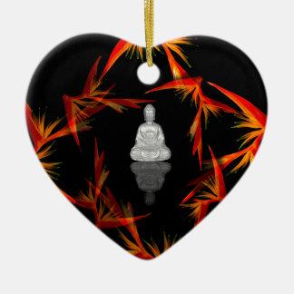 Paradies Buddha Keramik Ornament