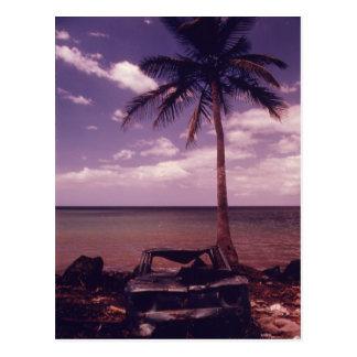 Paradies gefunden - Vintag Postkarte