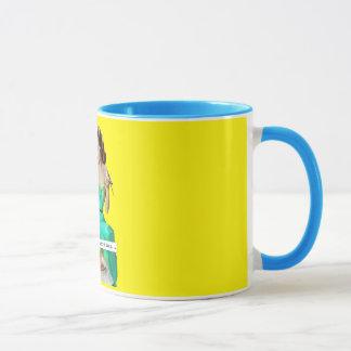 Paradies ist gerade ein Getränk weg Tasse