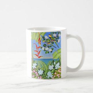 Paradies-Papagei Kaffeetasse