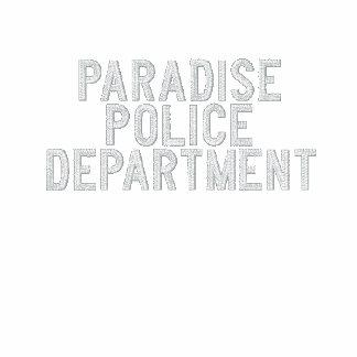 Paradies-Polizeidienststelle - Jesse Stein Bestickte Fleece Track Jacke