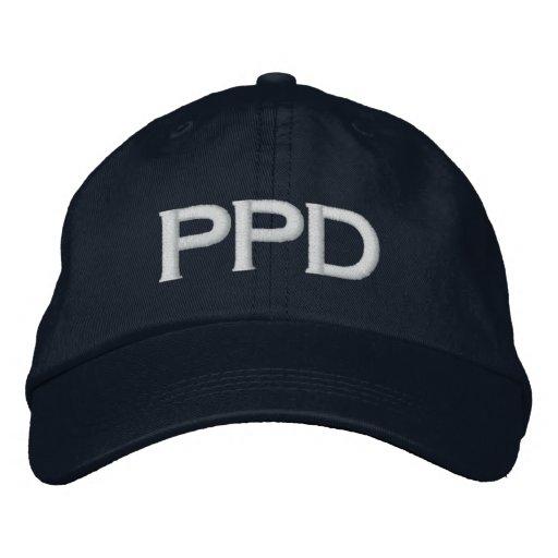 Paradies-Polizeidienststellehut Bestickte Baseballkappe