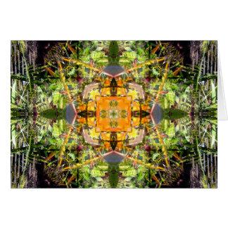 Paradiesvogel Mandala Karte
