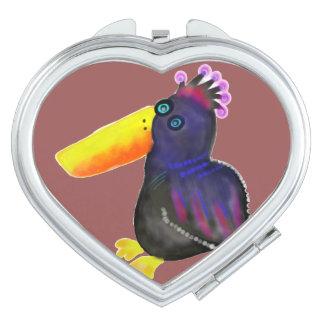 Paradiesvogel Taschenspiegel