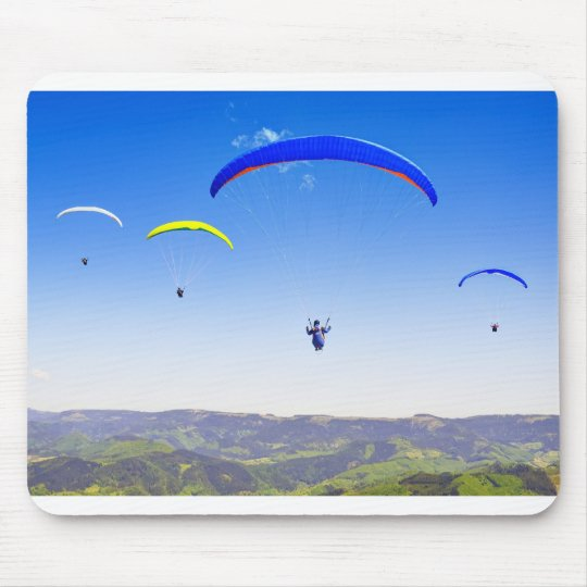 Paragliding in the Black Forest Mauspad