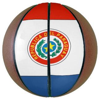 Paraguay-Flagge Basketball