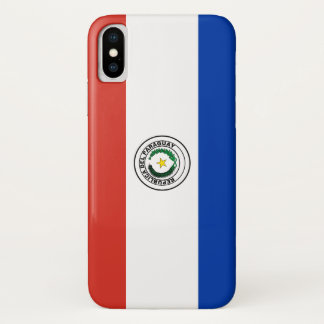 Paraguay-Flagge iPhone X Hülle