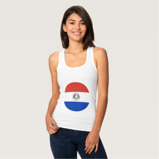 Paraguay-Flagge Tank Top