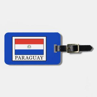 Paraguay Gepäckanhänger