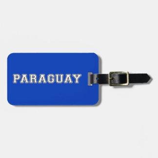 Paraguay Kofferanhänger