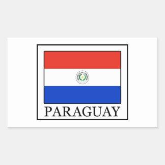 Paraguay Rechteckiger Aufkleber