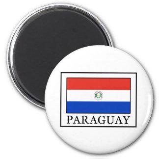 Paraguay Runder Magnet 5,1 Cm