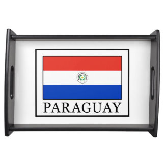 Paraguay Serviertablett