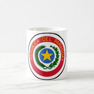 Paraguay-Wappen Kaffeetasse