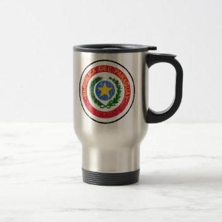 Paraguay-Wappen Reisebecher