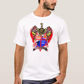 Paraguya Clan-Mantel des Rüstungs-Shirts T-Shirt