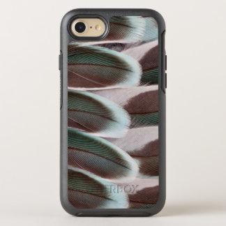 Parakeet-Flügel-Feder-Entwurf OtterBox Symmetry iPhone 8/7 Hülle