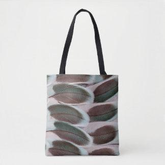 Parakeet-Flügel-Feder-Entwurf Tasche