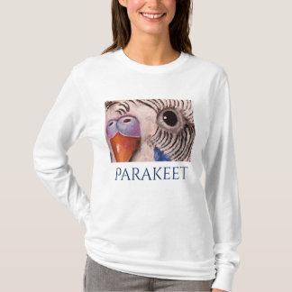Parakeet-Gesichts-Kunst-T - Shirt durch Mary