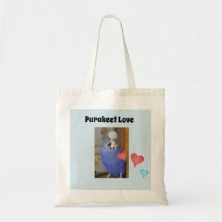 Parakeet-Liebhaber-Taschen-Tasche Tragetasche