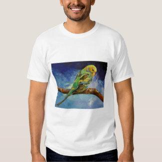 Parakeet-Malerei-T - Shirt