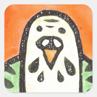 Parakeet-Porträt Sticker