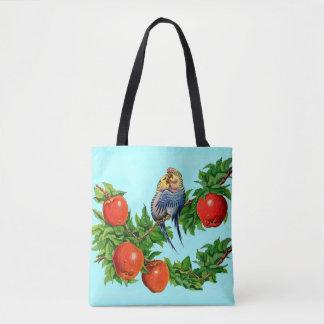Parakeets in der Liebe Tasche