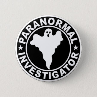 Paranormal Forscher-Logo-Halloween-Kostüm Runder Button 5,7 Cm
