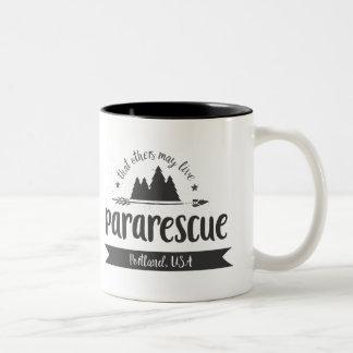Pararescue-Portland-Tasse Zweifarbige Tasse