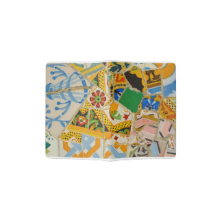 Parc Guell in Barcelona Spanien Passhülle
