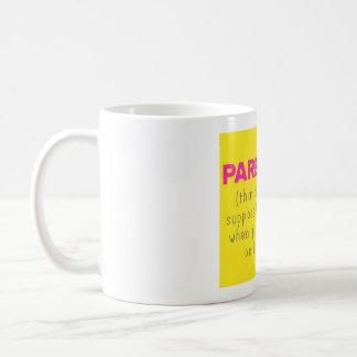 Parenting und facebook kaffeetasse