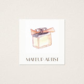 Parfüm-Illustrations-Visitenkarten Quadratische Visitenkarte