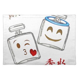 Parfümflasche Emoji Tischset