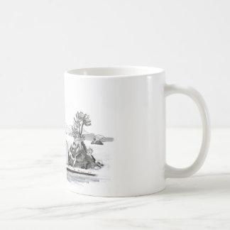 Parga Insel Kaffeetasse